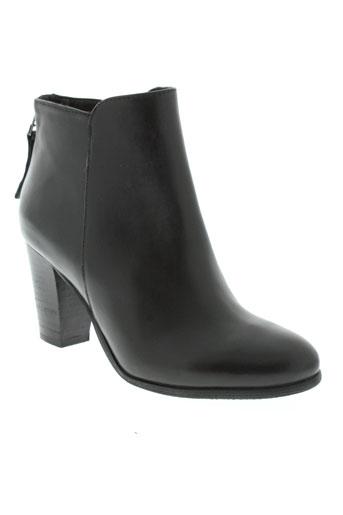 spm boots femme de couleur noir