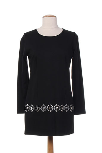 et liza... tuniques femme de couleur noir