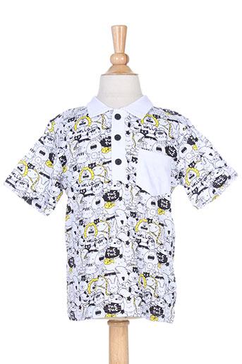 tuc tuc t et shirts et tops garçon de couleur blanc