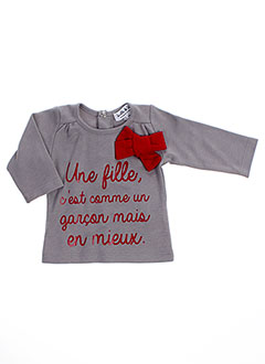 Produit-T-shirts / Tops-Fille-BULLE DE BB