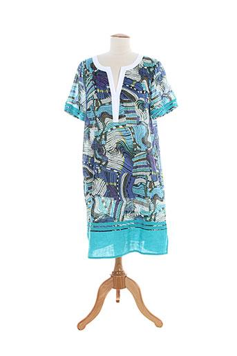 domina jersey tuniques femme de couleur bleu