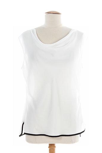 vera mont chemises femme de couleur blanc
