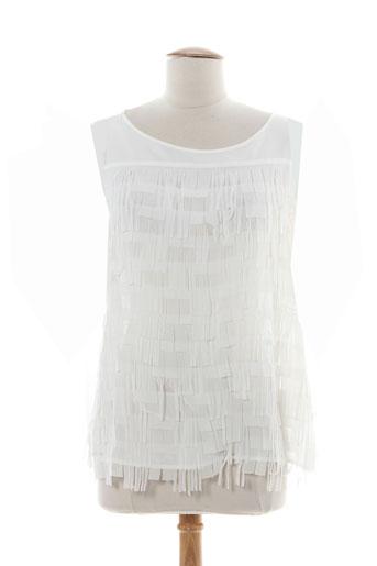 carla montanarini chemises femme de couleur blanc