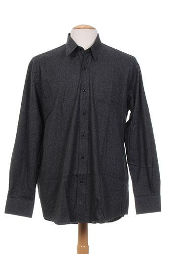 louis victor chemises homme de couleur gris