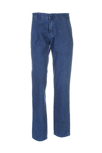 new sportswear jeans homme de couleur bleu