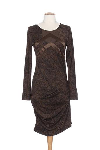 snob robes femme de couleur marron