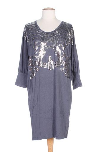 snob robes femme de couleur gris