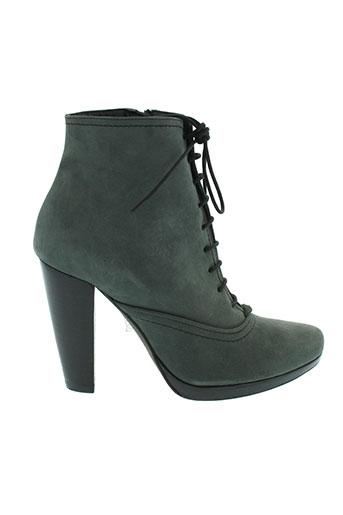 jean-louis scherrer chaussures femme de couleur gris