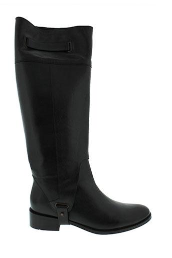 jean et louis et scherrer bottes femme de couleur noir