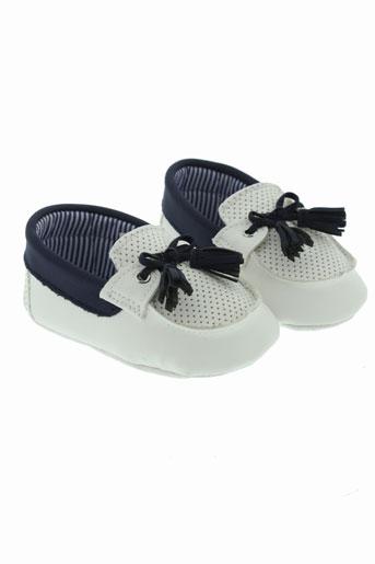 mayoral chaussons garcon de couleur blanc