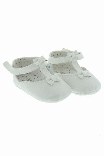 mayoral chaussures fille de couleur blanc