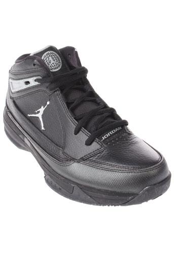 jordan baskets homme de couleur noir