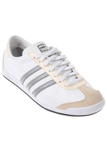 adidas baskets homme de couleur beige