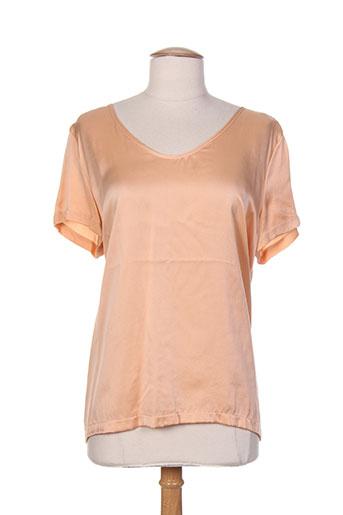 esqualo t-shirts femme de couleur orange