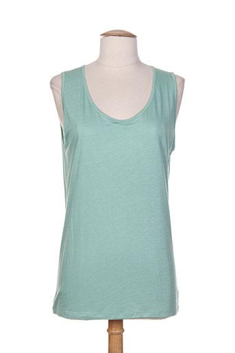 le petit baigneur t-shirts femme de couleur vert