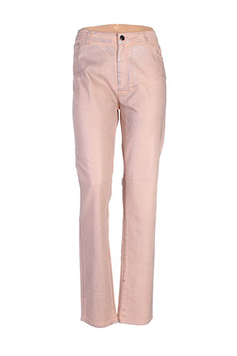 eva kayan pantalons femme de couleur rose