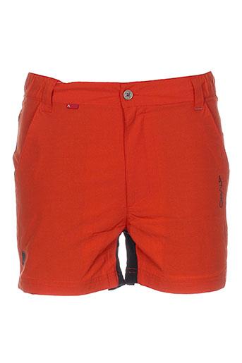 cimalp shorts / bermudas homme de couleur orange