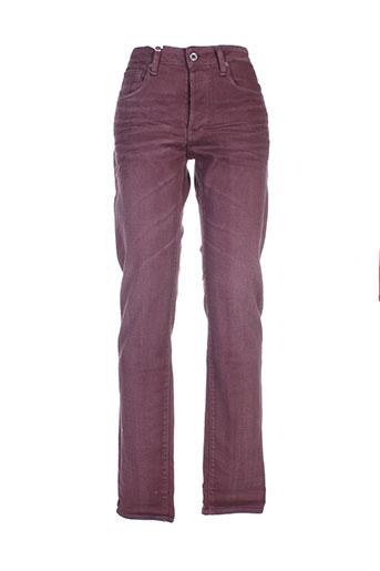 g et star jeans et coupe et slim homme de couleur violet
