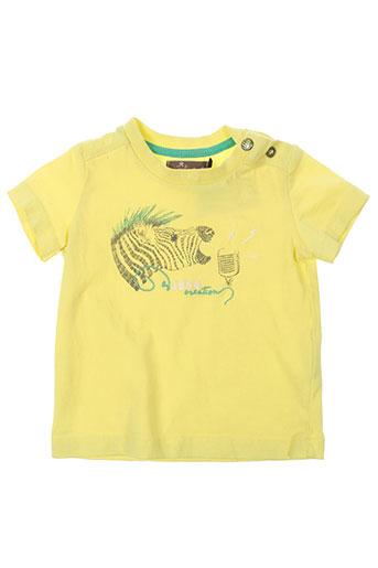 jean bourget t-shirts garçon de couleur jaune
