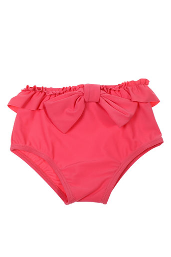 lili gaufrette maillots de bain fille de couleur rose