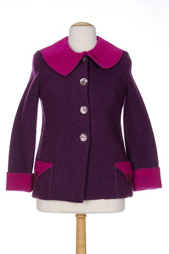 gevana vestes femme de couleur violet