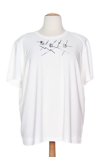 20/20 t-shirts femme de couleur blanc