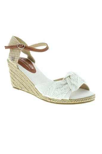 banana moon chaussures femme de couleur blanc