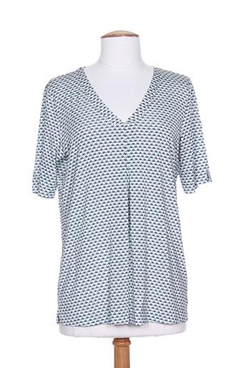 gran sasso chemises femme de couleur bleu