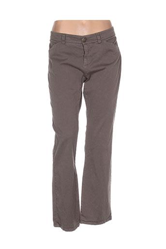 weekend et maxmara pantalons et decontractes femme de couleur marron