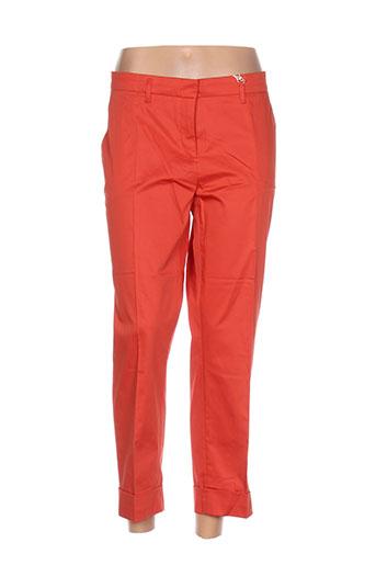 gant pantalons femme de couleur orange