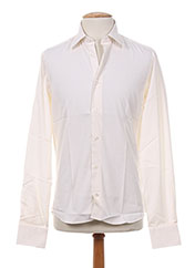 Chemise manches longues beige SMART pour homme seconde vue