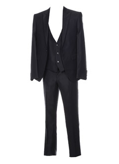 Veste/pantalon noir CARLO PIGNATELLI pour homme