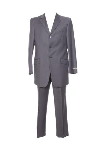 Veste/pantalon gris PAL ZILERI pour homme