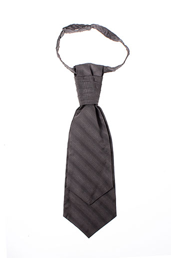 Cravate gris SOIE MEME pour homme
