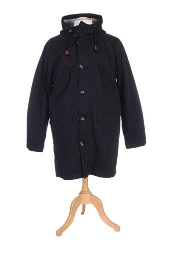 edwin manteaux homme de couleur noir