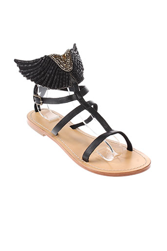 angela chaussures femme de couleur noir