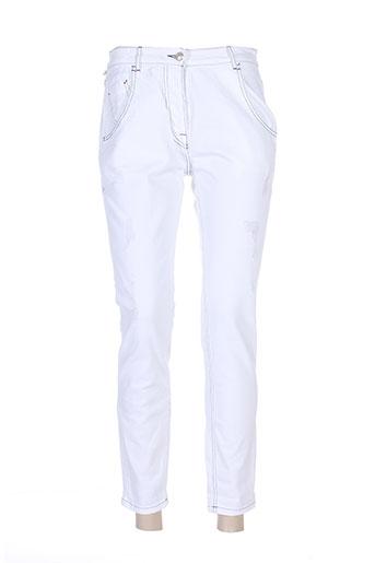 was jeans femme de couleur blanc