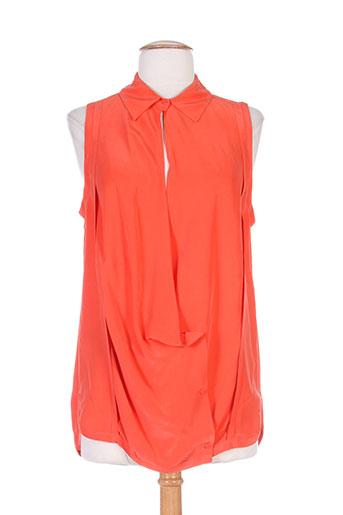 vanessa bruno chemises femme de couleur orange
