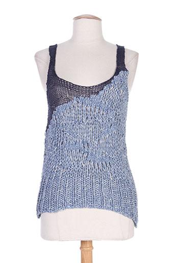 crea concept chemises femme de couleur bleu
