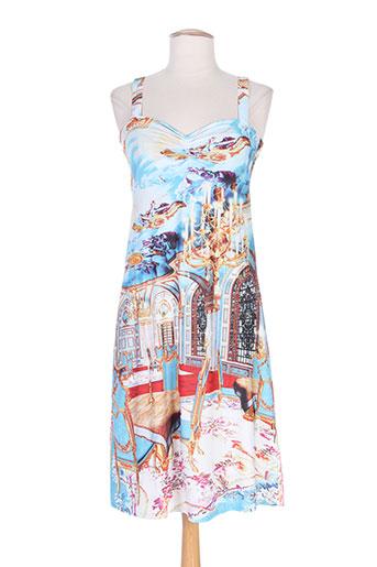 etoile du monde robes femme de couleur bleu