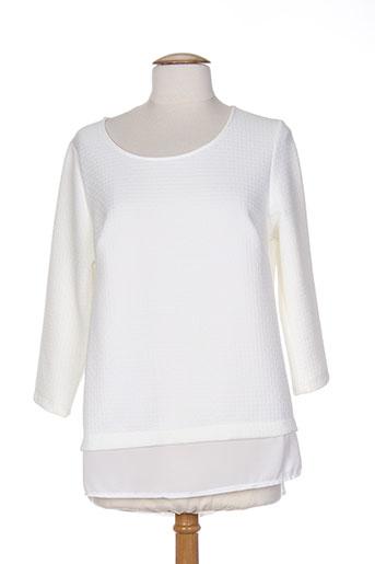 allegro chemises femme de couleur blanc