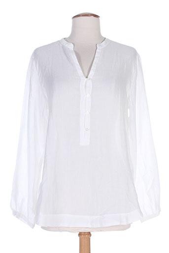 gant chemises femme de couleur blanc