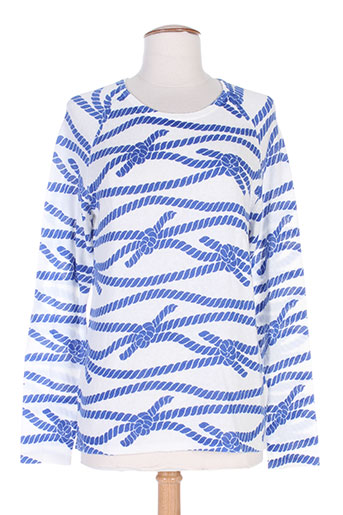 gant pulls femme de couleur bleu