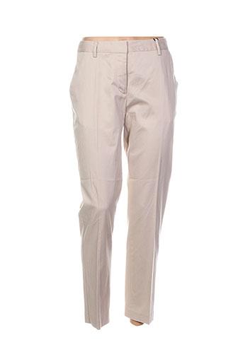 gant pantalons femme de couleur chair