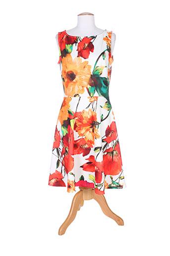 fille a suivre robes femme de couleur orange