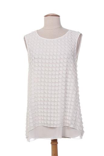 diambre chemises femme de couleur blanc