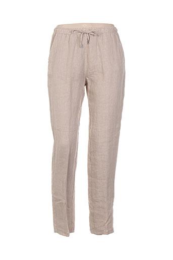 diambre pantalons et decontractes femme de couleur beige