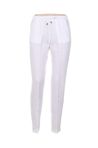 diambre pantalons et decontractes femme de couleur blanc