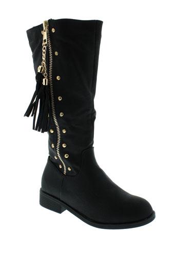 top et shoes bottes femme de couleur noir