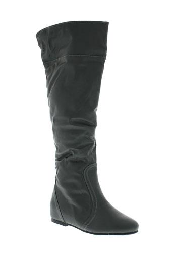 sofi bottes femme de couleur gris